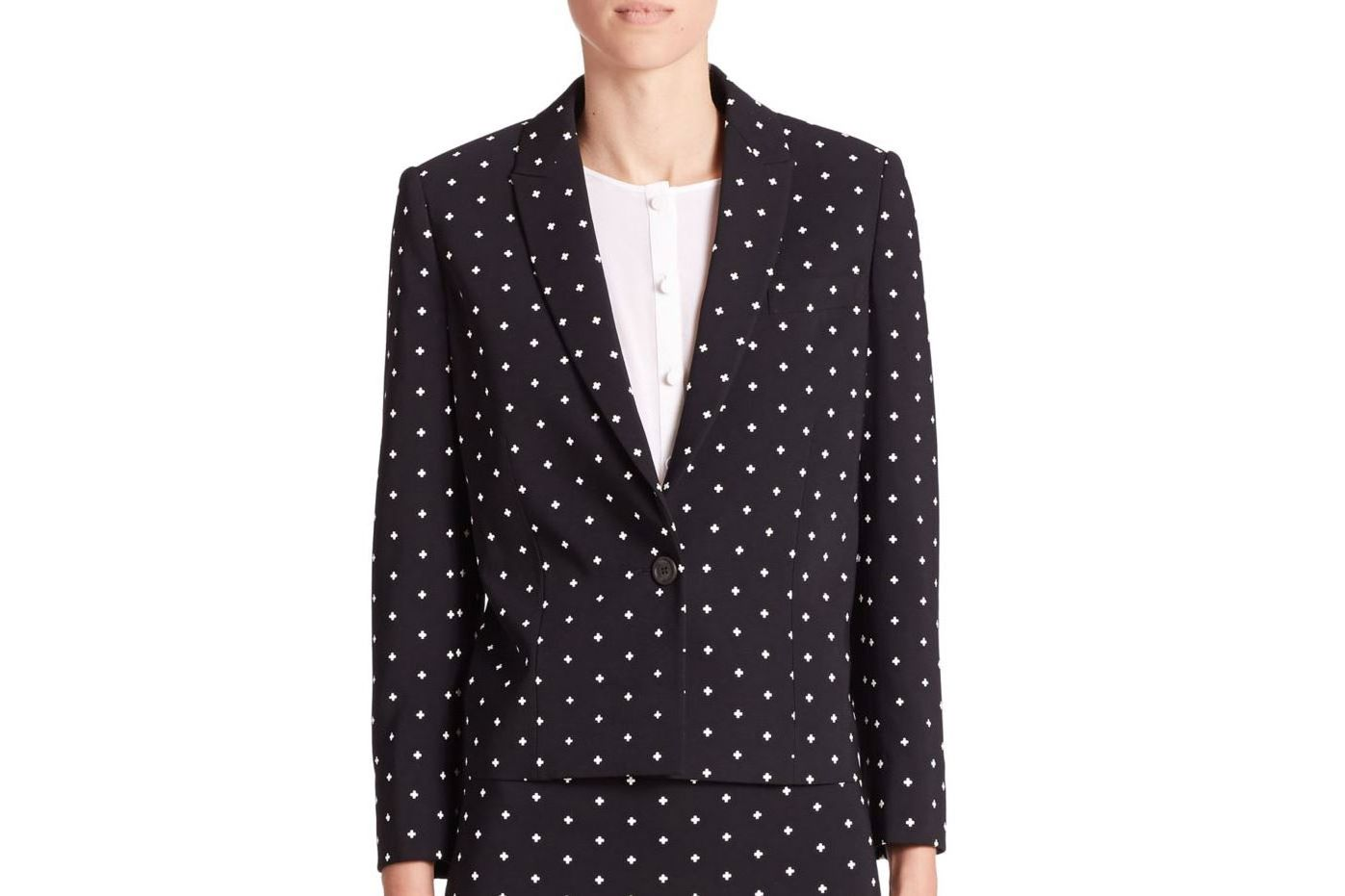Givenchy Crosses Cady cropped blazer