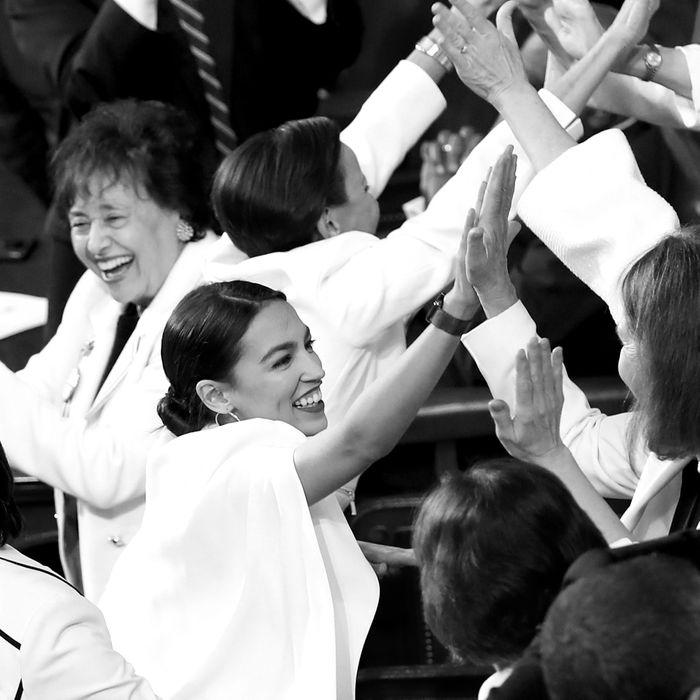 Congresswoman Alexandria Ocasio-Cortez and others.