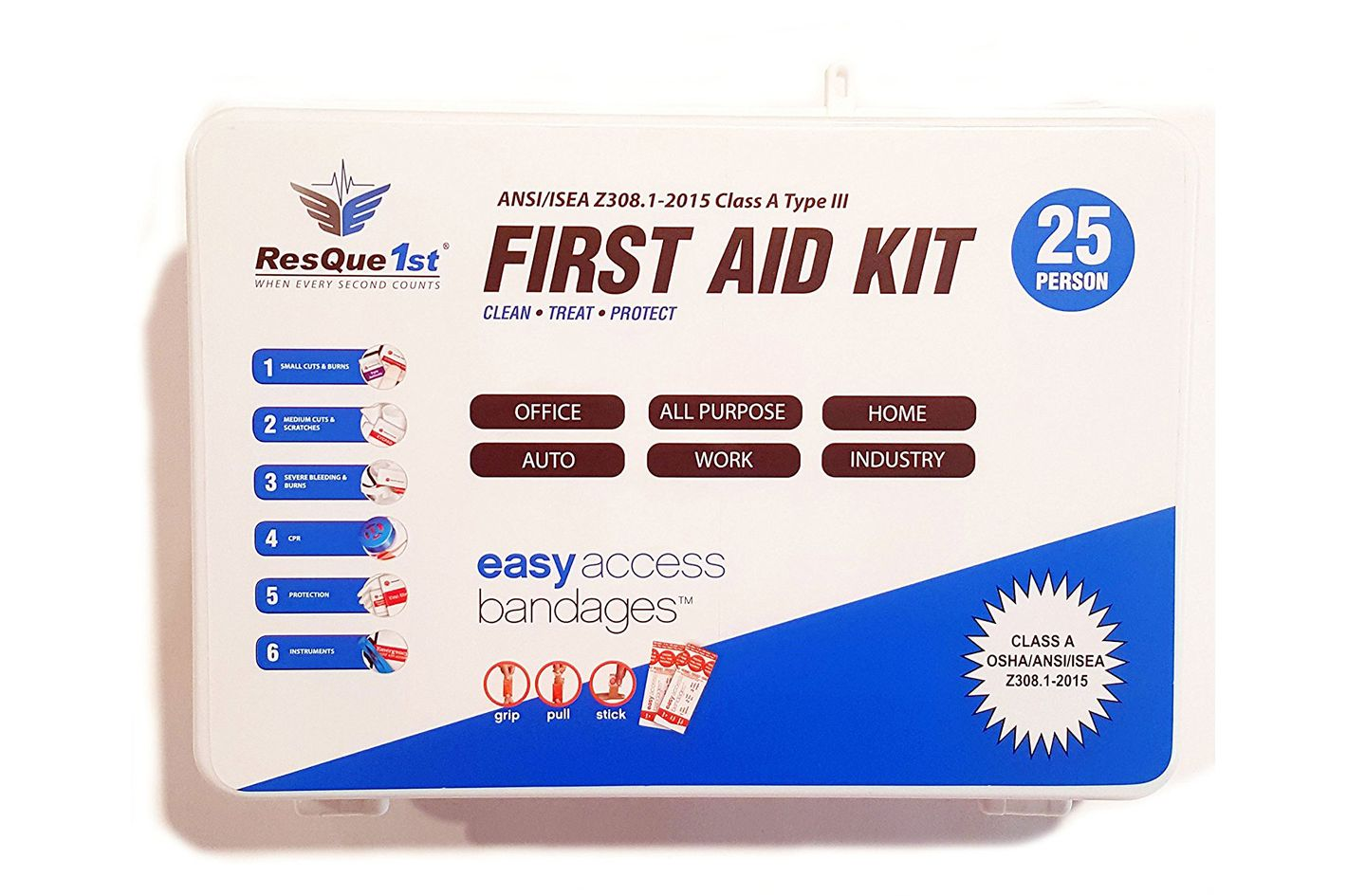 ResQue1st First Aid Kit