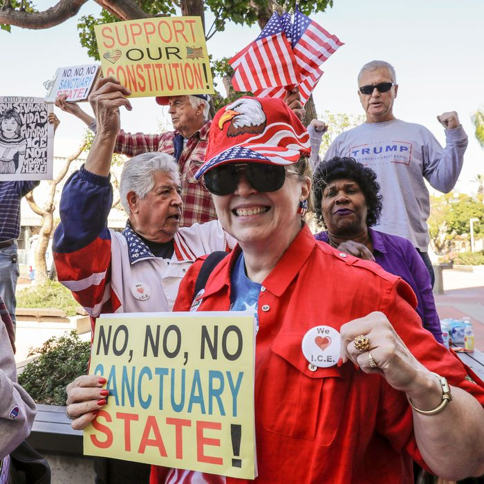 38a822c81d1 Fans of Orange County s decision to join a Trump lawsuit against their own  state bring back memories of the O.C. s deeply reactionary history.