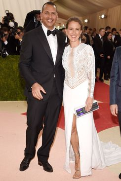 A-Rod and Anne.