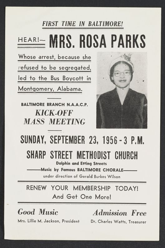 Take a Deep Dive Into Rosa Parks's Newly Digitized Archive