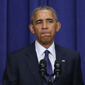 President Obama Speaks At Meeting With Law Enforcement Officials