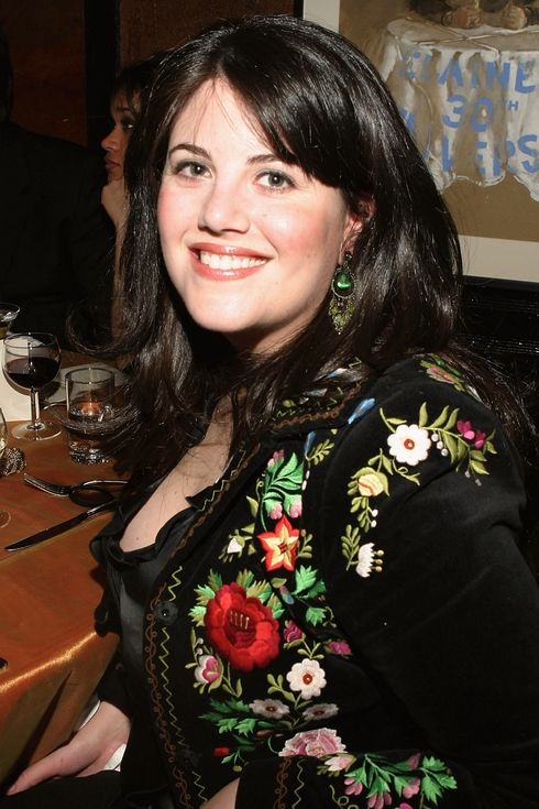 "NEW YORK - FEBRUARY 29:  (U.S. TABS AND HOLLYWOOD REPORTER OUT) Monica Lewinsky attends Entertainment Weekly's ""LA Can't Have All The Fun"" 10th Anniversary Oscar Party at Elaine's on February 29, 2004 in New York City. (Photo by Thos Robinson/Getty Images)"