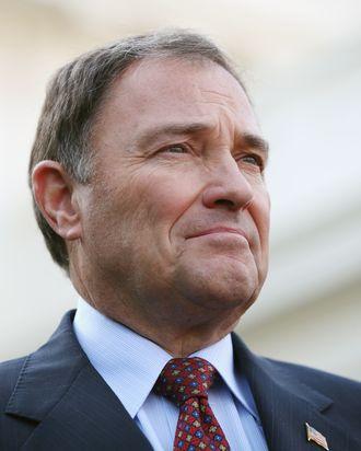 Utah Governor Gary Herbert.