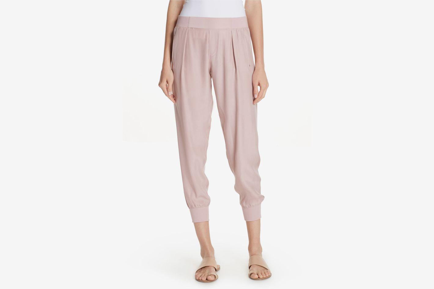 1b10e9daf23a8 Anthony Thomas Melillo Silk Jogger Pants