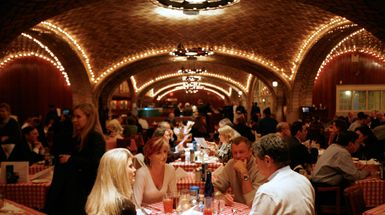 New York's Grand Central Oyster Bar.