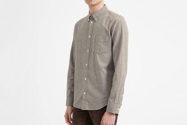 Everlane Chambray Slim Fit Shirt
