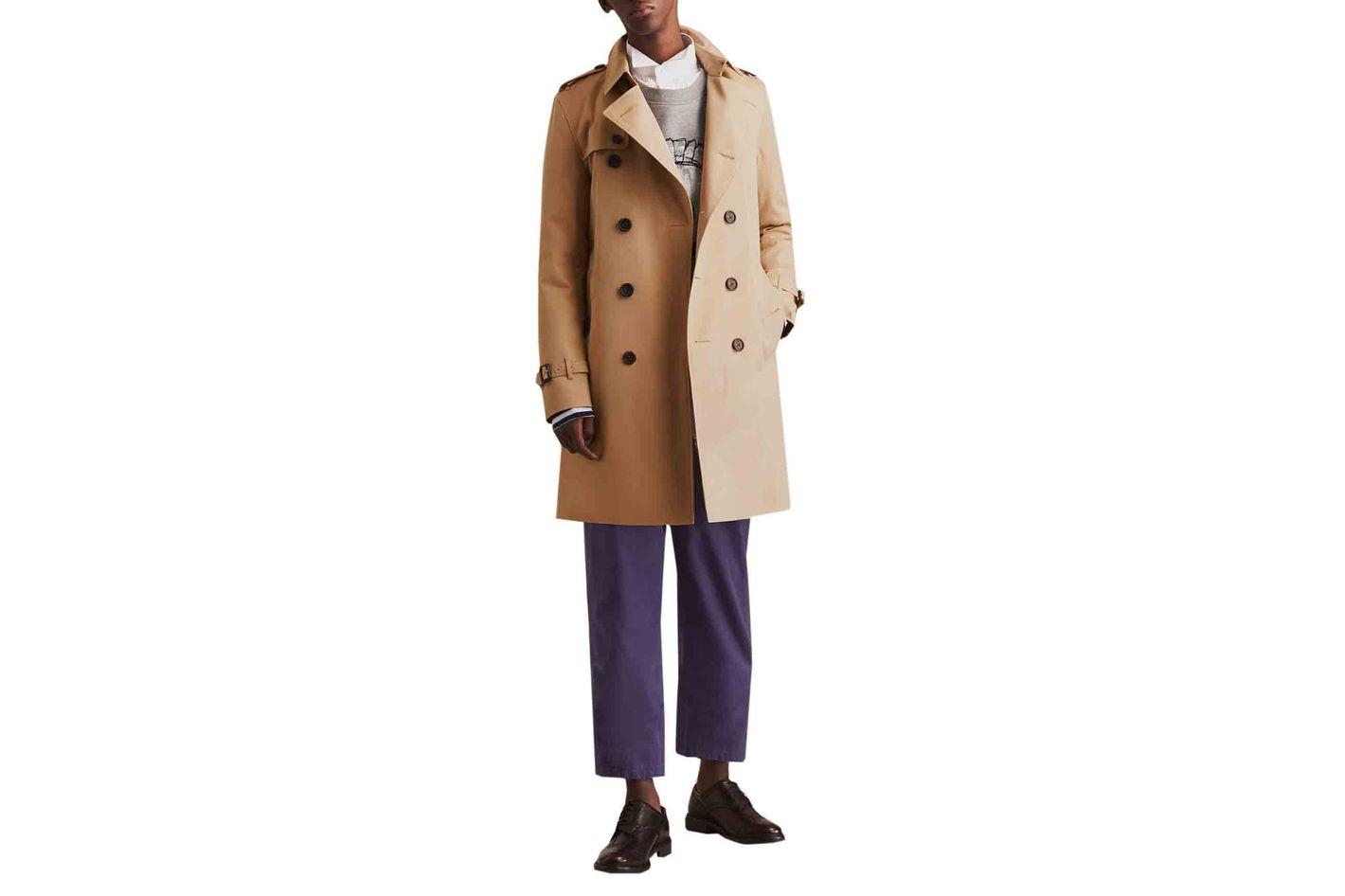 Burberry The Kensington Long Heritage Coat
