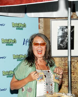 NEW YORK, NY - JULY 13: Roseanne Barr attends the