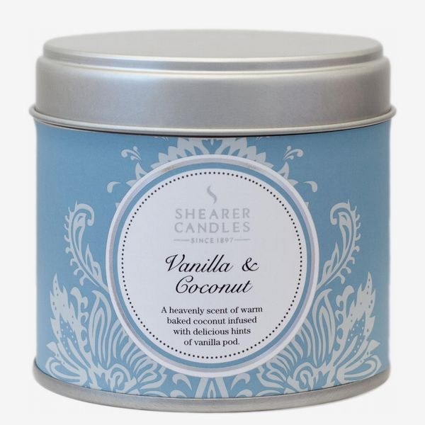 Shearer Vanilla and Coconut Tin Candle