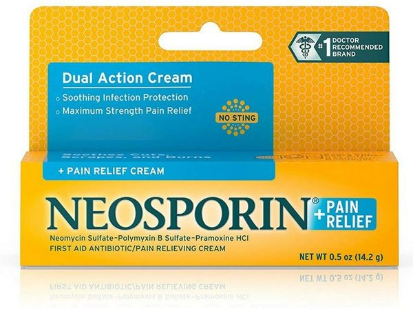 Neosporin Plus Pain Relief Cream