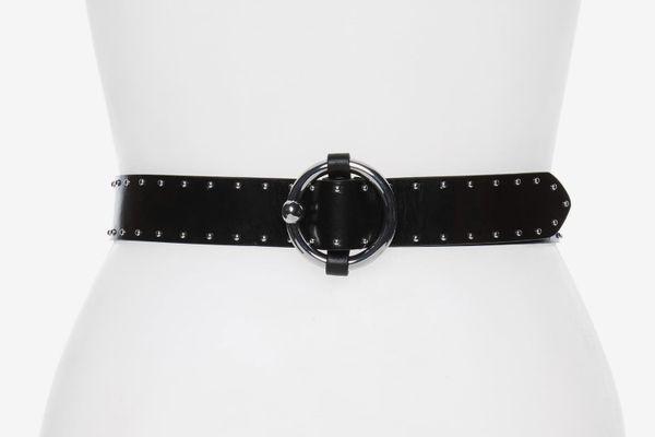 Rebecca Minkoff Studded Leather Belt