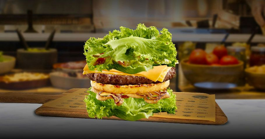 McDonald's Goes Low-Carb With Lettuce Burgers