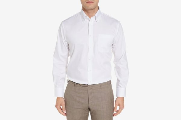 Traditional Fit Solid Dress Shirt