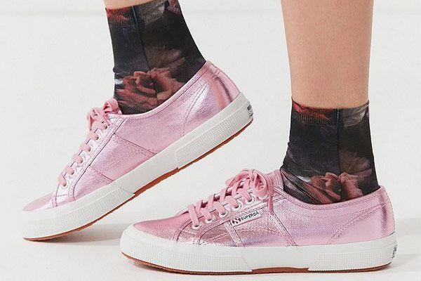 Superga Cotu Metallic Sneaker