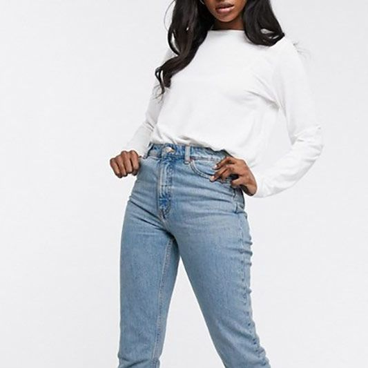 Monki Kimomo High Waist Mom Jeans