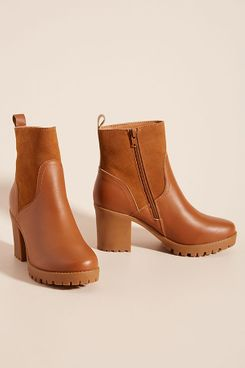 Soludos Platform Ankle Boots