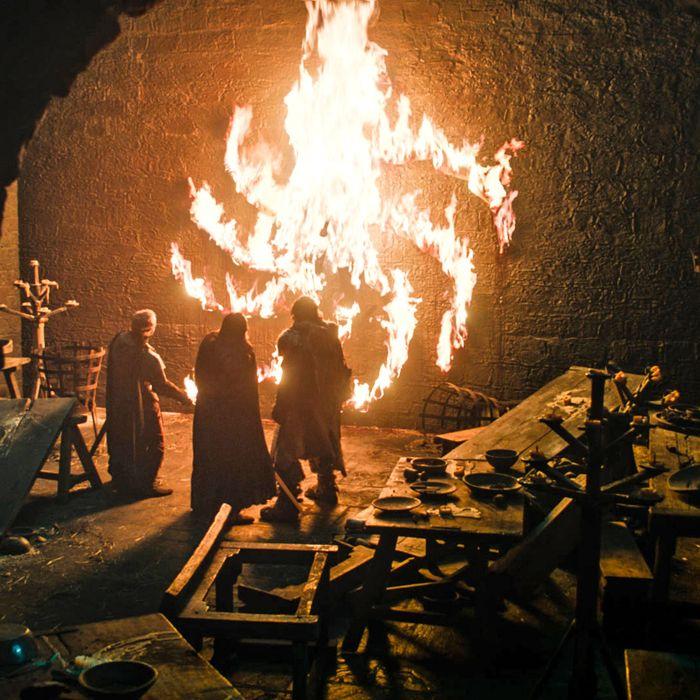 Game Of Thrones: Ned Umber's Terrifying White Walker Death