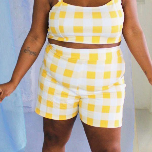 Smart Glamour Gloria High-Waist Short