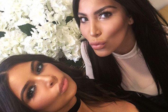 Kim Kardashian and Kamilla Osman.