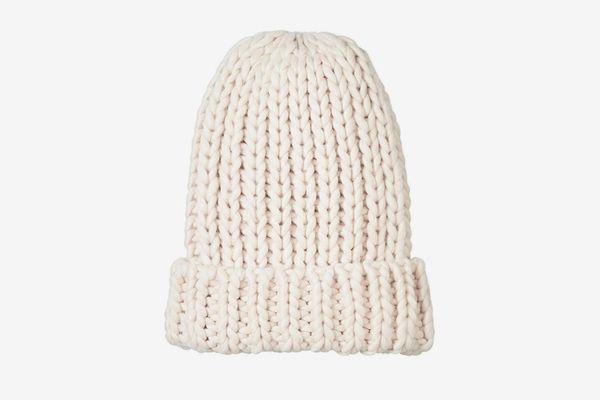 Under Zero Winter Chunky Knitted Rib Hat