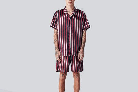 Tucker Short Sleeve Club Collar