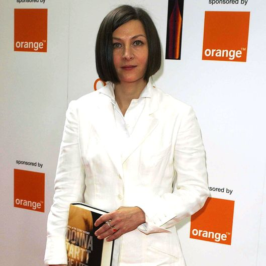 Author Donna Tartt attends the Orange Prize For Fiction Award Ceremony June 3, 2003 at Lincoln's Inn Fields in London.