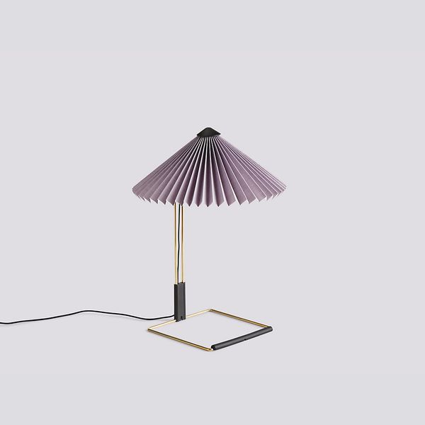 Hay Small Matin Table Lamp, Lavender
