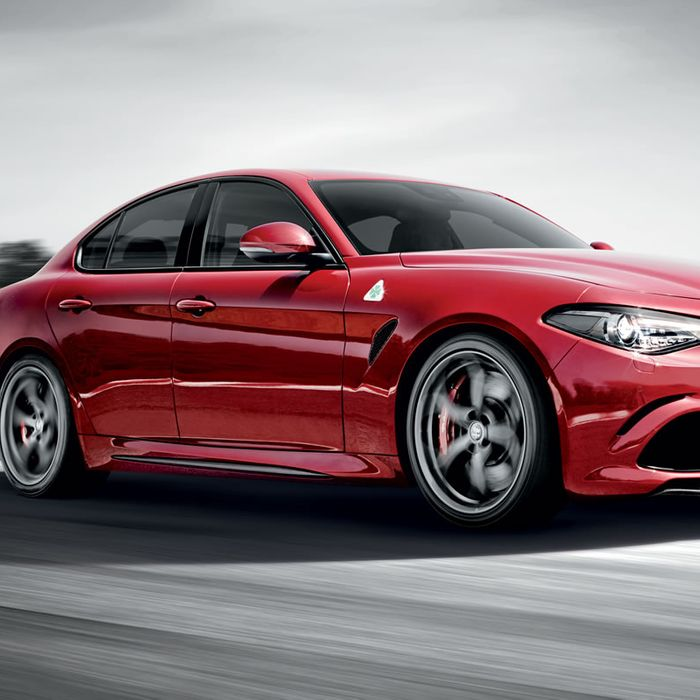 Behind The Wheel Of The New Alfa Romeo Giulia Quadrifoglio