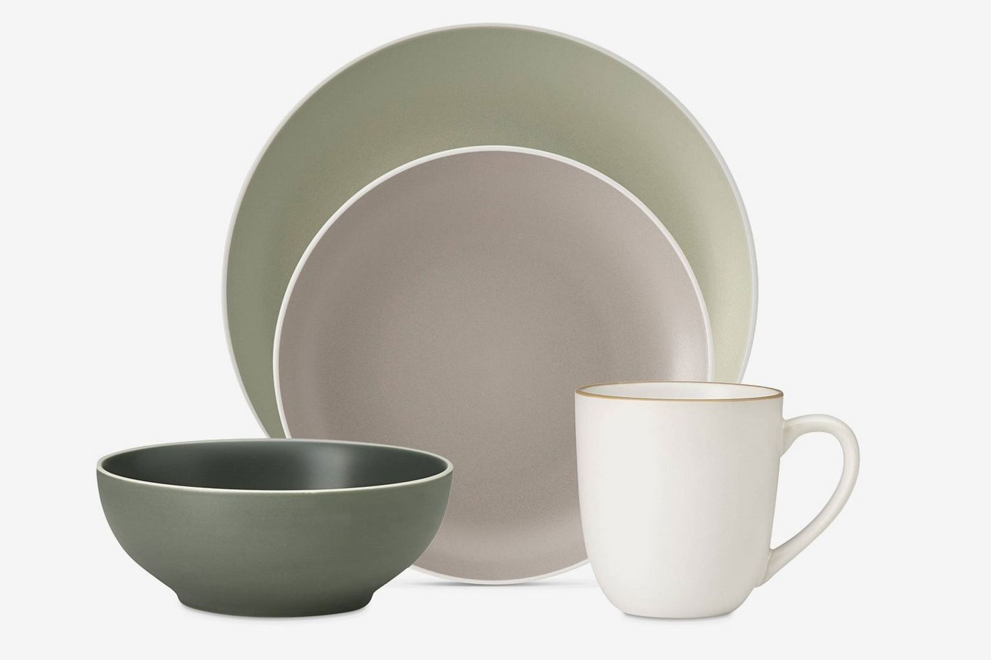 Pieces of ceramic dinnerware from Dansk — The Strategist's Deal of the Day is this dinnerware set.