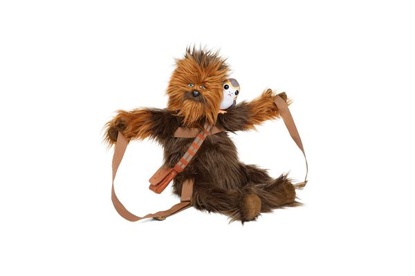 Chewie and Porg backpack