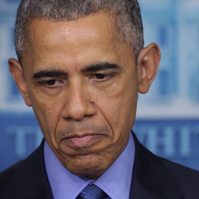 President Obama Addresses The Shooting That Killed 9 At Church In Charleston, South Carolina