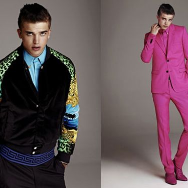Looks from Versace for H&M.