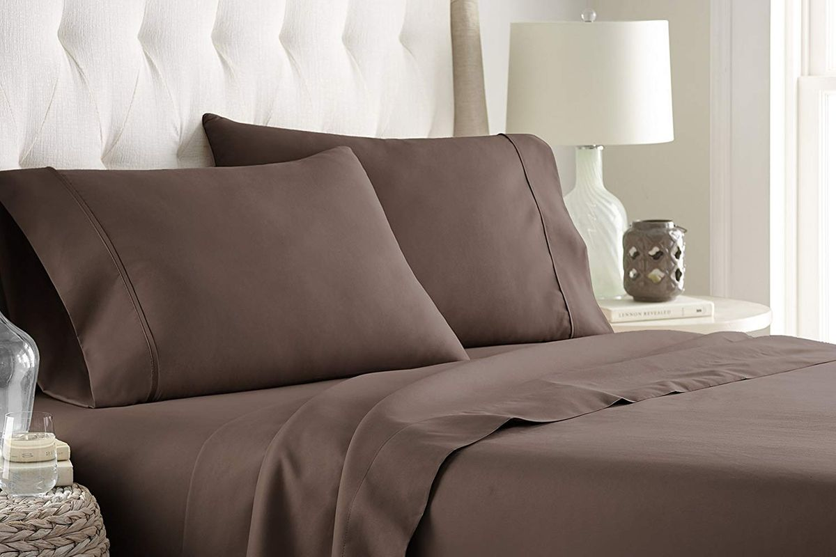 "Bed Sheet Sets King Size Multi Colors 100/% Cotton 400-TC 15/"" Deep Pocket 6 PCs"