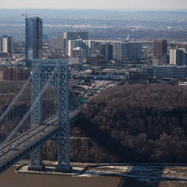 FORT LEE, NJ - JANUARY 09:  The New Jersey side of the George Washington Bridge, which connects Fort Lee, NJ, and New York City, is seen on January 9, 2014 in Fort Lee, New Jersey. New Jersey Governor Chris Christie is currently caught in a political scandal, in which one of his aides ordered The Port Authority of New York and New Jersey to purposely cause traffic jams at the on-ramps to the George Washington Bridge in Fort Lee, NJ, due to political disagreements between Governor Christie and the mayor of Fort Lee. Christie claims he had no knowledge of issue and has since fired the aide.  (Photo by Andrew Burton/Getty Images)