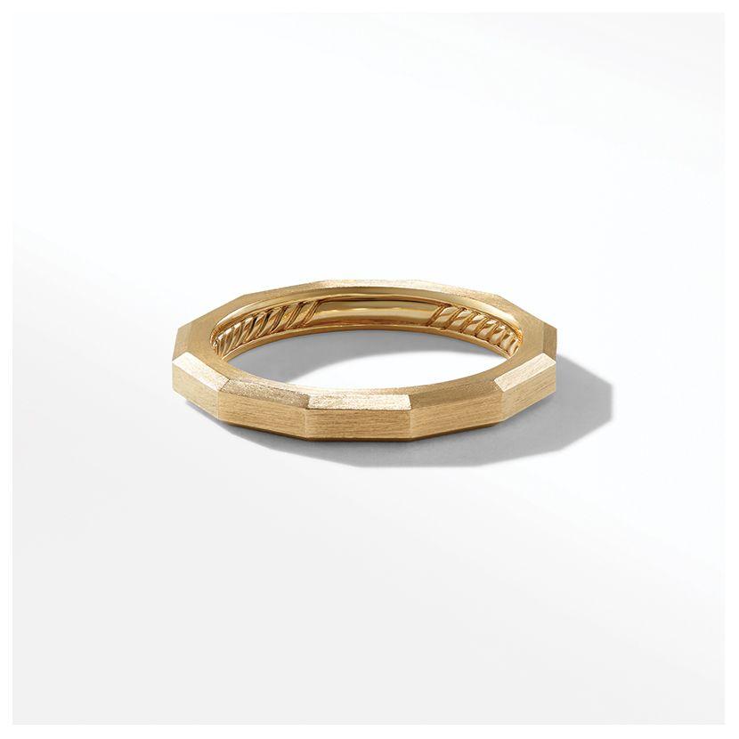 Delaunay Narrow Band Ring in 18K Gold