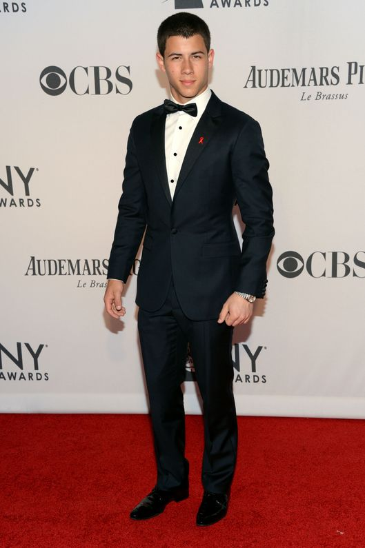 NEW YORK, NY - JUNE 10:  Nick Jonas attends the 66th Annual Tony Awards at The Beacon Theatre on June 10, 2012 in New York City.  (Photo by Jason Kempin/WireImage for Tony Award Productions)