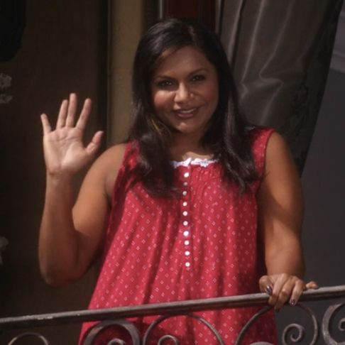 Mindy Kaling as Mindy Lahiri.