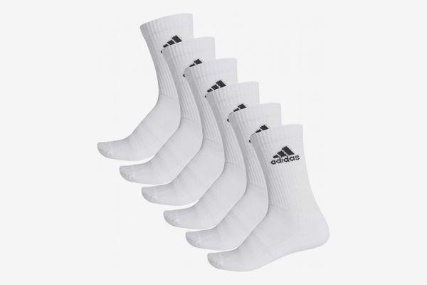 adidas Men's Cushioned Crew 6-pack Socks