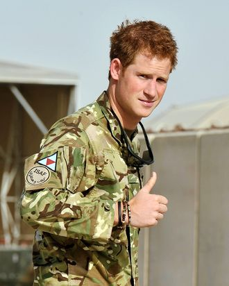 Prince Harry, not in Vegas.