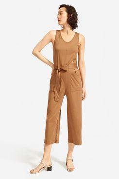 Everlane Luxe Cotton Jumpsuit