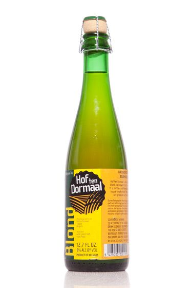"Hof Ten Dormaal (Belgium)<br>$5.99 for 12.7 oz. <br><strong>Type:</strong> Saison<br><strong>Tasting notes:</strong> ""Spicy flavor with hits of banana. Slightly tart but finishes dry, with just a touch of funk from the yeast they use. Good carbonation. Pairs well with cheese, pizza, mussels, and potatoes."" <br>—Jeff Wallace, beer-team leader, Whole Foods Market: Bowery Beer Room<br> <br>"