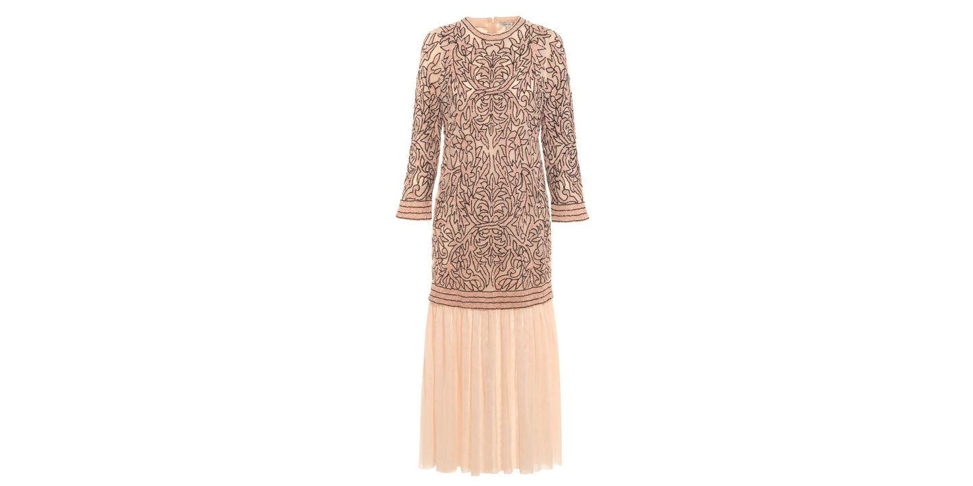 Layered Sequin Dress