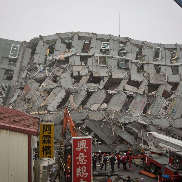 Earthquake Hits Southern Taiwan