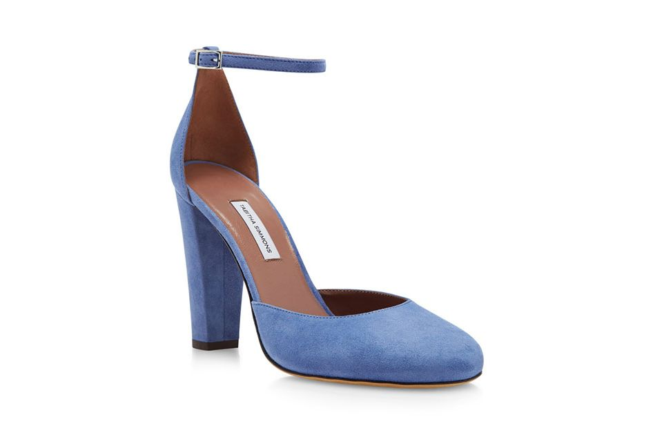 Tabitha Simmons Petra Suede Pumps