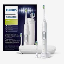 Philips Sonicare ProtectiveClean 6500 Rechargeable Electric Toothbrush with Charging Travel Case and Extra Brush Head