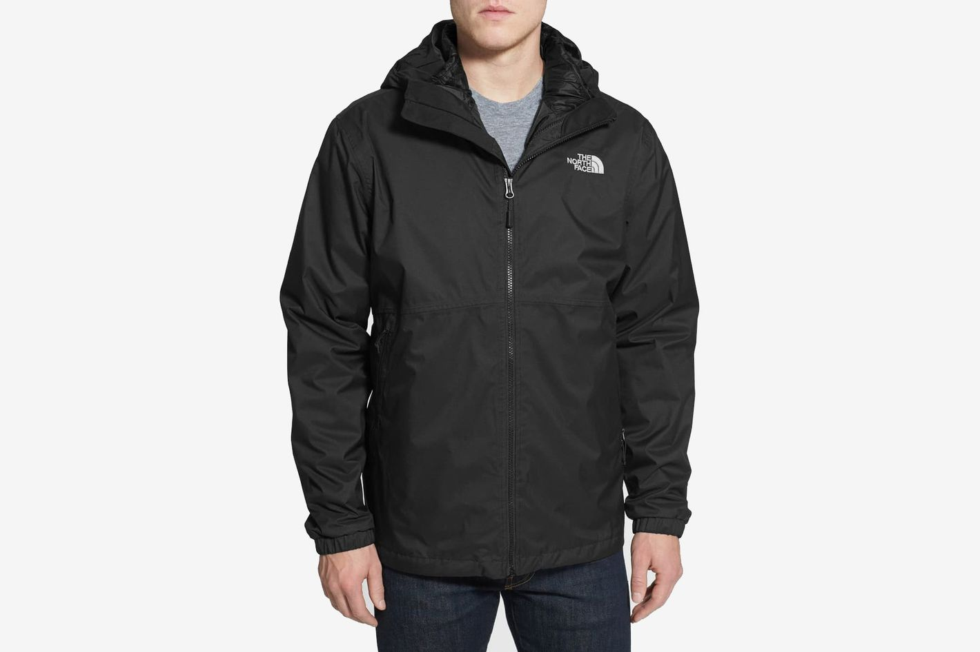 The North Face All About' TriClimate® Waterproof Hooded 3-in-1 HyVent® Jacket