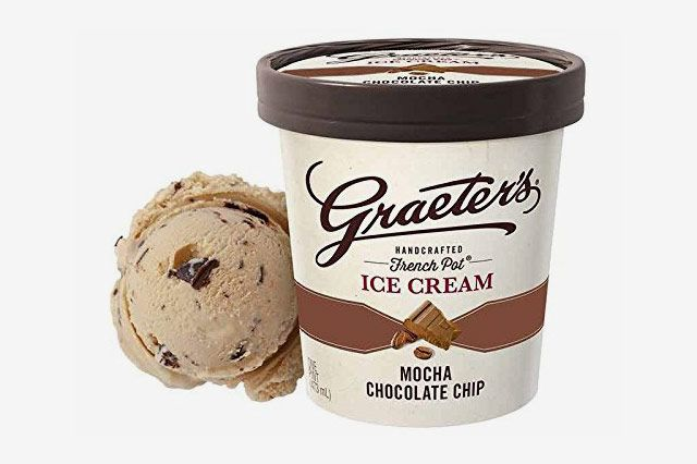 Graeter's Premium Ice Cream, Mocha Chocolate Chip, Pint (8 Count)