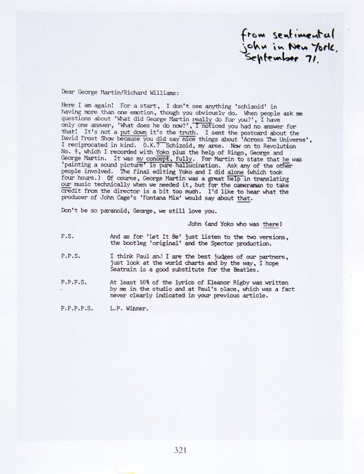 P.S. I Hate You: The Angry John Lennon Letters -- Vulture